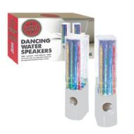 Global Gizmos Dancing Water Speakers - White